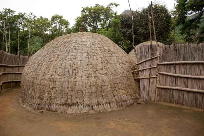 Типичный африканский домик