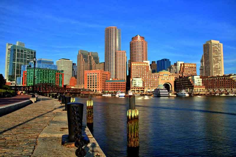 Финансовый район и гавать города